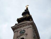 L'église de cathédrale de St George le grand martyre image stock