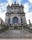 L'église de Clerigos, qui est attaché à la tour iconique de Clerigos Photo libre de droits