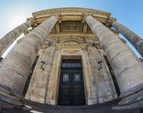 L'église de Frederik (Frederiks Kirke) ou l'église de marbre Photographie stock libre de droits