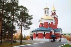 L'église de l'intervention de la mère de Dieu Image stock