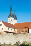 L'église de Jacobi dans le ¼ de MÃ hlhausen photographie stock