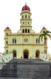 L'église de l'EL Cobre dans Santiago de Cuba Photographie stock