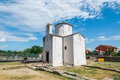 L'église de la croix sainte est une église catholique Pré-romane croate provenant du 9ème siècle de Nin Photos stock