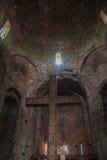 L'église de la croix sainte, Jvari, décoration intérieure Images libres de droits