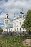 L'église de la nativité de la Vierge Marie bénie Photos libres de droits