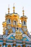 L'église de la résurrection dans Catherine Palace de Tsarsk Photo stock