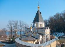 L'église de la source vivifiante, Kiev-Pechersk Lavra Photographie stock libre de droits