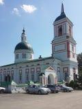 L'église de la transfiguration dans le Priscah inférieur Photographie stock libre de droits