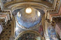 L'église de Mary Magdalene à Rome Photos libres de droits