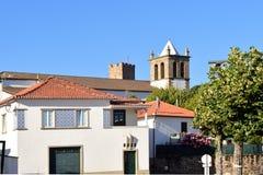 L'église de Misericordia, Mogadouro, montes d'OS de Tras, Portugal photographie stock libre de droits