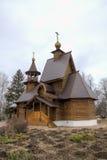 L'église de Nicholas de saint Zvenigorod, Russie image stock