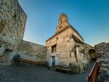 L'église de Nicolae de saint de Densus, district de Hunedoara dans Romania image libre de droits