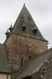 L'église de Notre-Dame-De-La-Trochaye - Rochefort-en-Terre - Frances Photos libres de droits