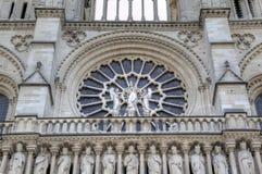 L'église de Notre Dame de Paris Éléments de décoration Paris, France Image libre de droits