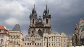 L'église de notre Madame avant Tyn Image stock