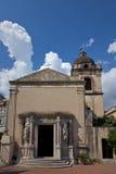 L'église de Pancras de saint dans Taormina Images libres de droits