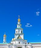 L'église de porte de l'entrée dans Jérusalem La Russie Photo libre de droits