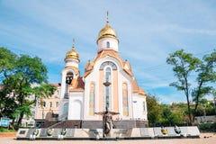 L'église de prince Igor de saint de Tchernigov dans Vladivostok, Russie image libre de droits