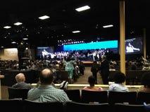 L'église de roche à Anaheim Image libre de droits