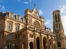L'église de Saint-Germain-l'Auxerrois image stock