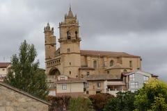 L'église de San Andres en EL Ciego image stock