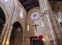 L'église de San Lorenzo, appelée le fernandina d'église, de elle a été construite pendant la deuxième moitié du siècle XIII, Cord photos libres de droits