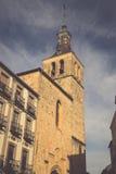 L'église de San Martin à Ségovie, Espagne, a été construite dans le 12t Photo libre de droits