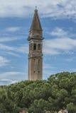 L'église de San Martino dans Burano Photographie stock
