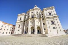 L'église de Santa Engracia a converti en Pantheo national Image libre de droits