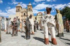 L'église de Santo Domingo de Guzman à Oaxaca, Mexique Images libres de droits