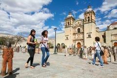 L'église de Santo Domingo de Guzman à Oaxaca, Mexique Photo stock