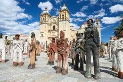 L'église de Santo Domingo de Guzman à Oaxaca, Mexique Photos libres de droits