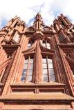 L'église de St Anne à Vilnius Images stock