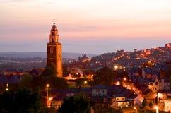 L'église de St Anne, Shandon, liège Photos libres de droits