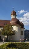 L'église de St Bartholomew au lac Koenigssee près de Berchtesgaden, Photo libre de droits