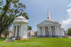L'église de St George à Georgetown, Penang, Malaisie photographie stock libre de droits