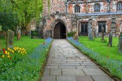 L'église de St Lawrence, Appleby Photographie stock