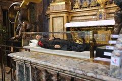 L'église de St Mary Magdalene à Rome Photo libre de droits