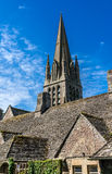 L'église de St Mary, Witney, Oxfordshire, Angleterre, R-U Photos stock