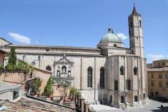 L'église de style gothique de San Francesco Photos stock