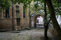 L'église de temple, Londres Image libre de droits