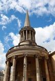 L'église de toute la place de Langham d'âmes à Londres. Photos stock