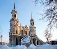 L'église de Vladimir dans Bykovo. Photographie stock libre de droits
