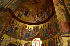 L'église des sept apôtres Image stock