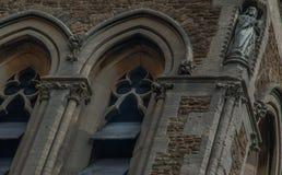 L'église du Christ, Sheen est est une église d'église de l'Angleterre sur la route d'église du Christ, Sheen est images stock