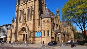 L'église du nom saint de Jésus à Manchester, Angleterre image libre de droits