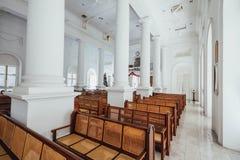 L'église du ` s de St George est une Église Anglicane du 19ème siècle dans la ville de George Town à Penang, Malaisie Photographie stock