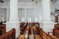 L'église du ` s de St George est une Église Anglicane du 19ème siècle dans la ville de George Town à Penang, Malaisie Photographie stock libre de droits