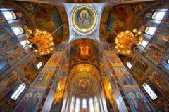 L'église du sang renversé par sauveur photographie stock libre de droits