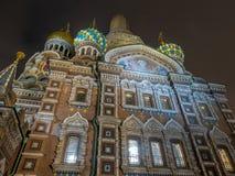 L'église du sauveur sur le sang renversé, Russie photo libre de droits